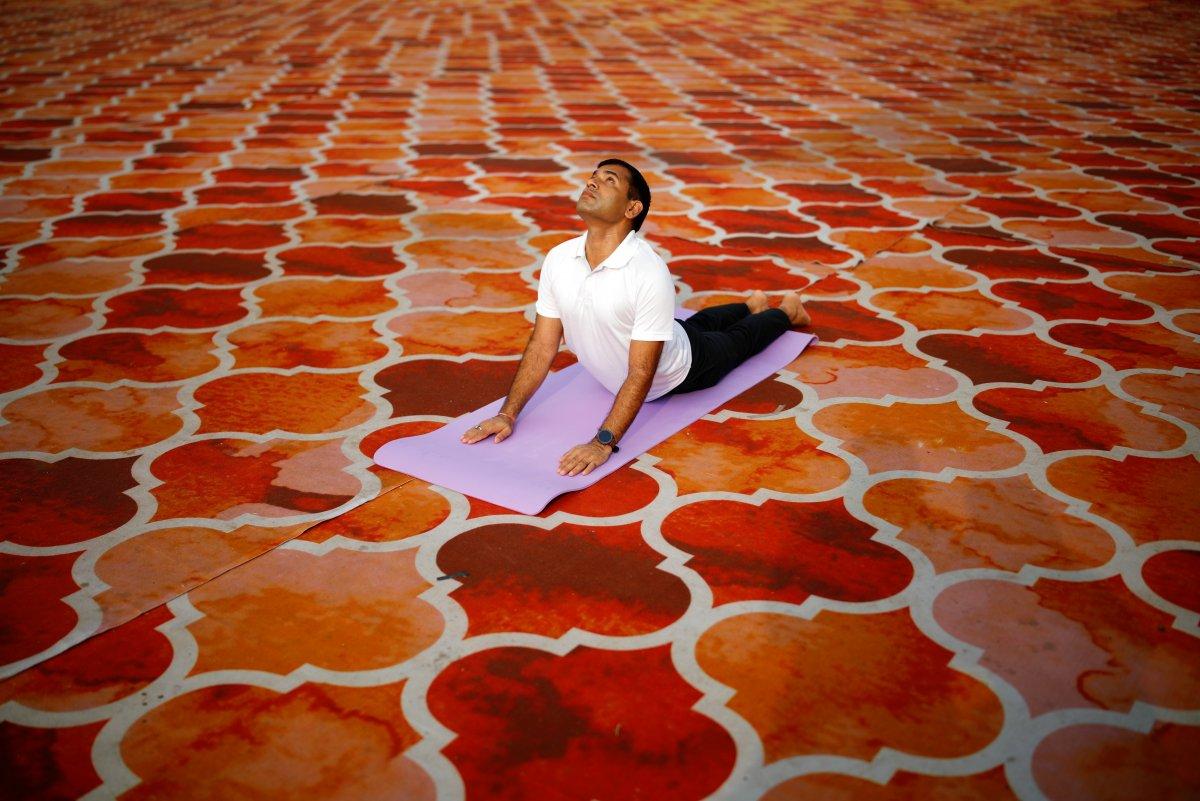 Hindistan da Uluslararası Yoga Günü kutlaması #2