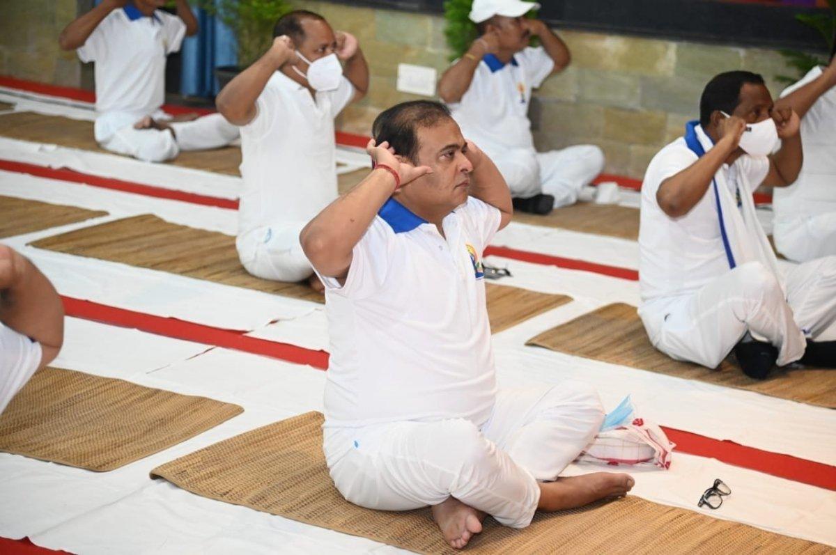 Hindistan da Uluslararası Yoga Günü kutlaması #4