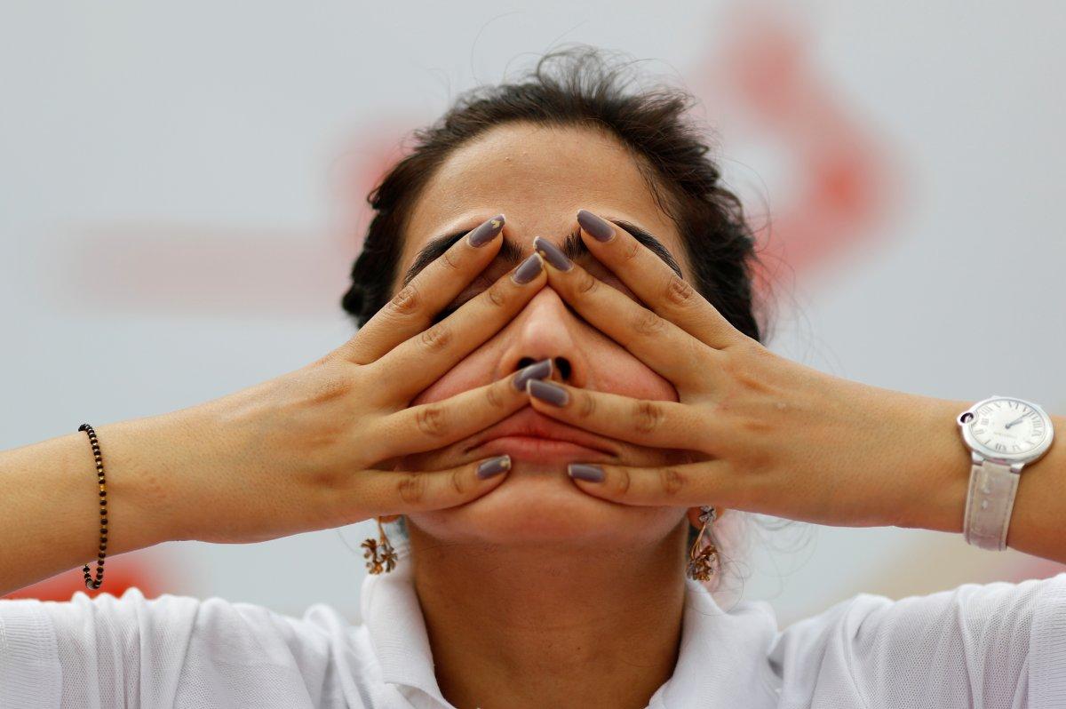 Hindistan da Uluslararası Yoga Günü kutlaması #3