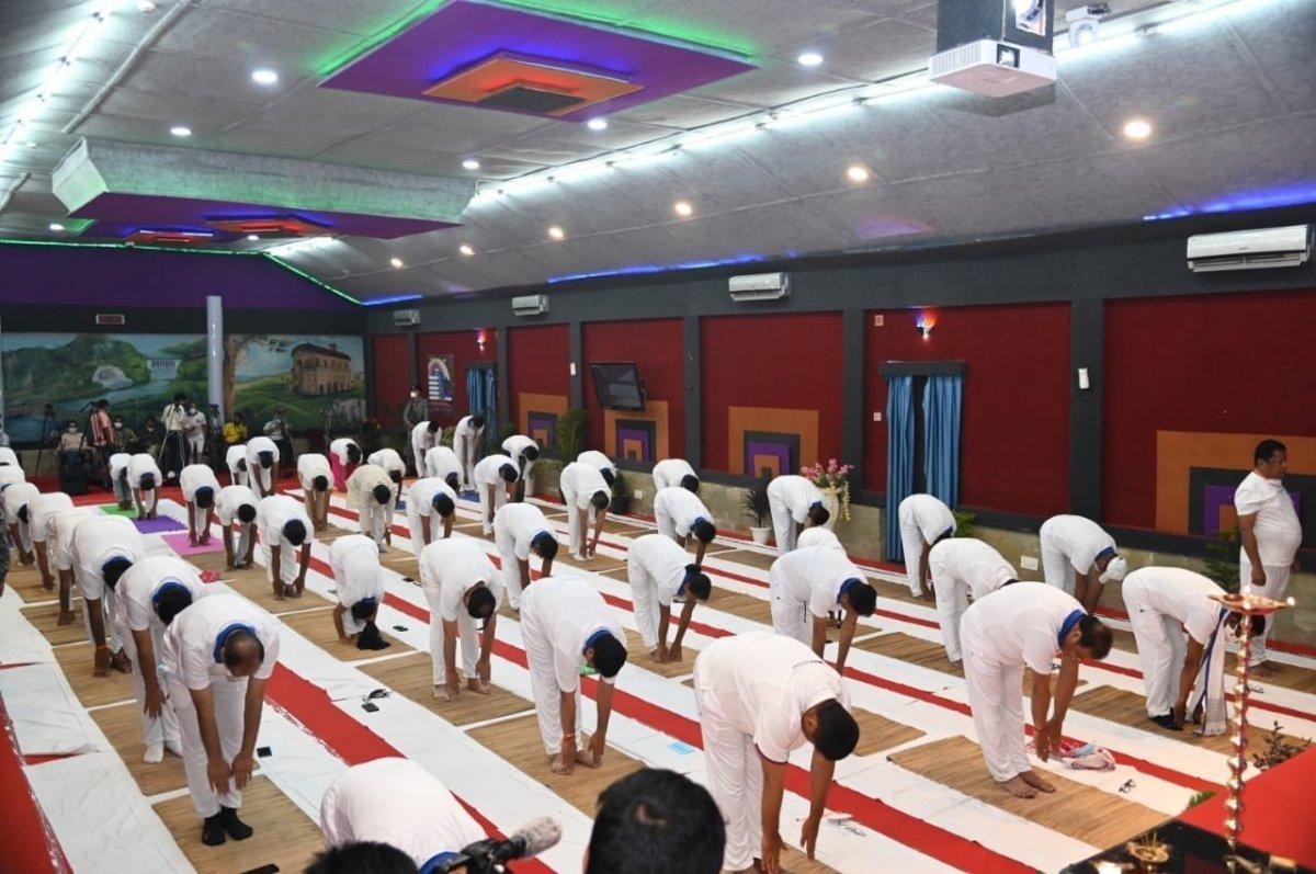 Hindistan da Uluslararası Yoga Günü kutlaması #5
