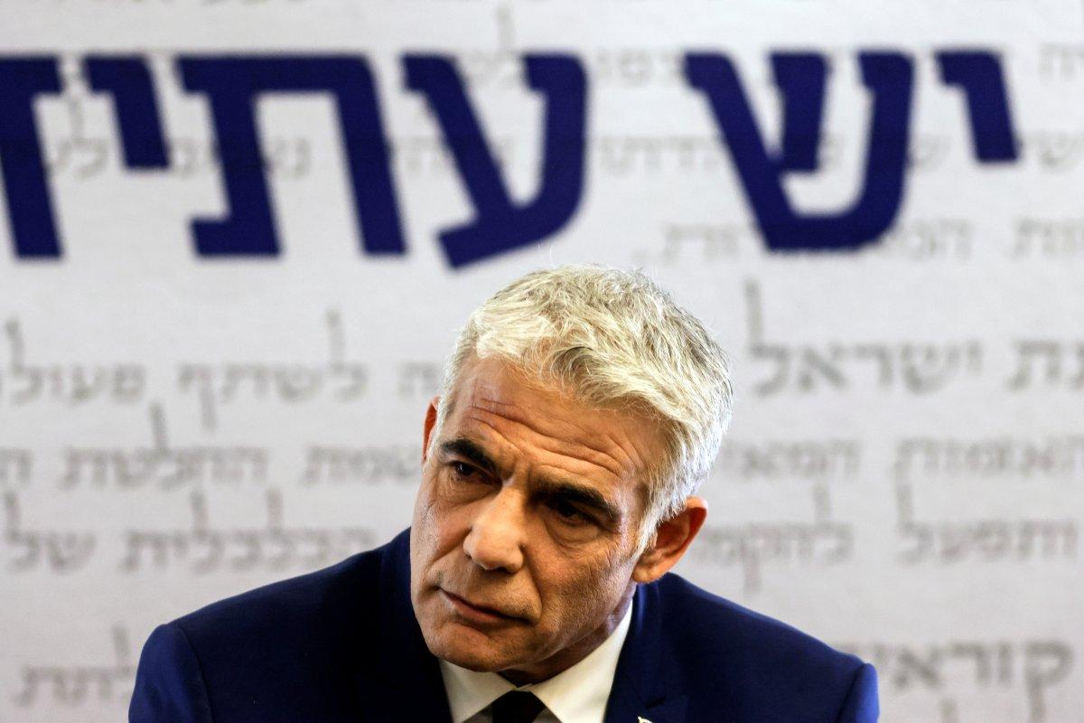 İsrail Dışişleri Bakanı Yair Lapid den BAE ye ziyaret #1