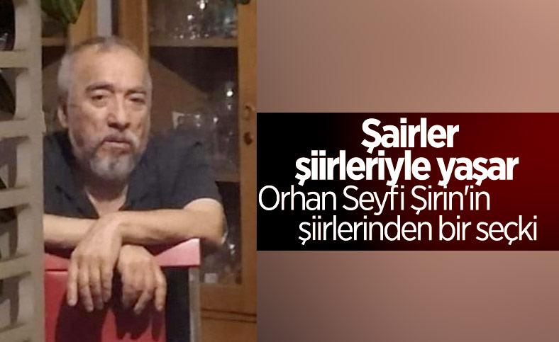 Hayatını kaybeden şair Orhan Seyfi Şirin'in şiirlerinden derleme