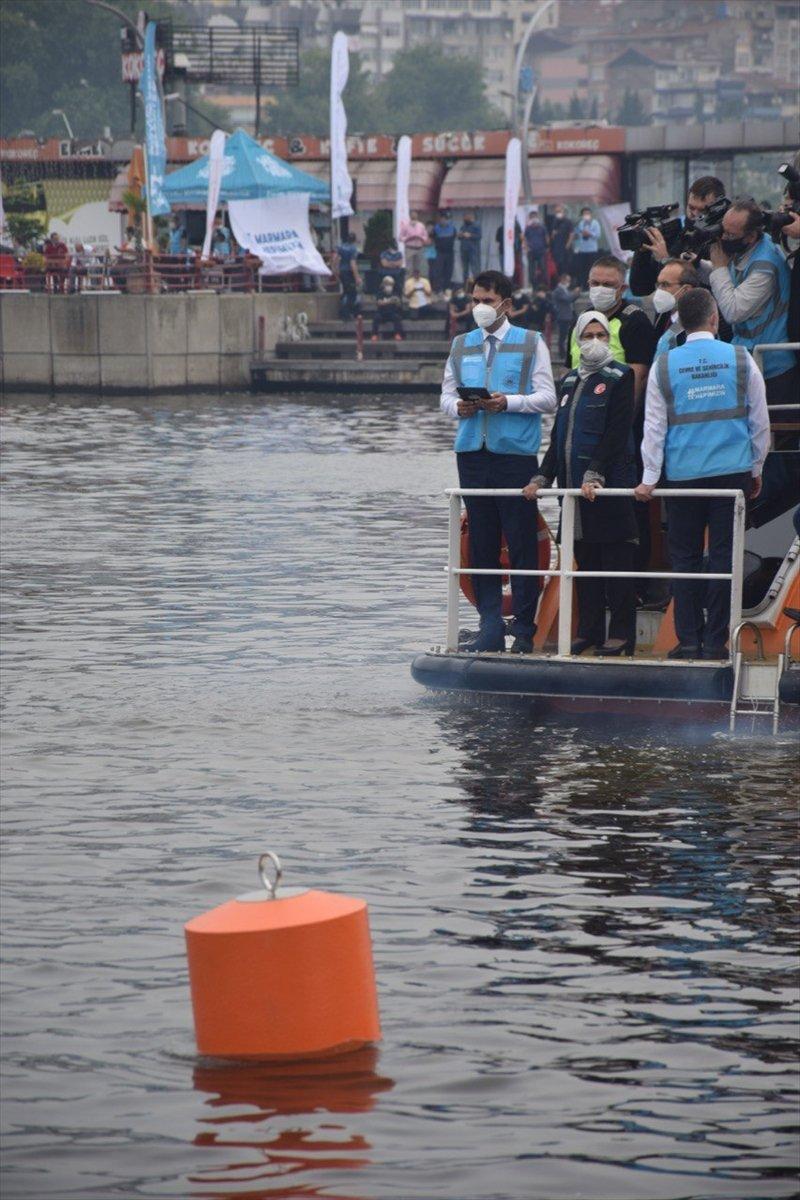Marmara Denizi ne müsilaja karşı oksijen verilecek #6