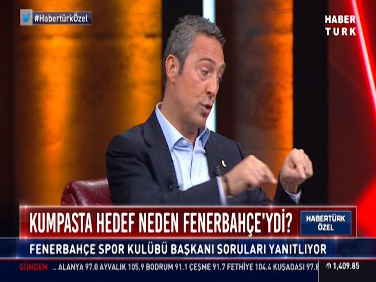 Ali Koç: Fenerbahçe ye şike yaptı diyenler FETÖ ye hizmet etmektedir #2