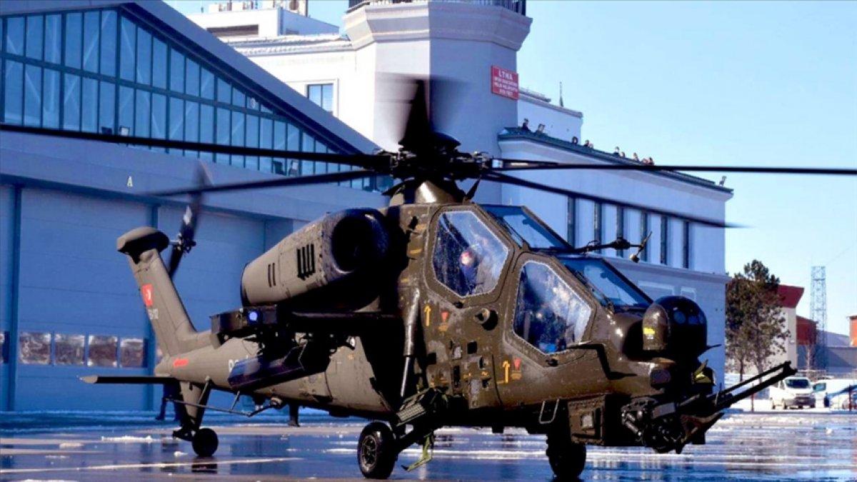 Üretilen ATAK helikopteri sayısı 64 e yükseldi #2
