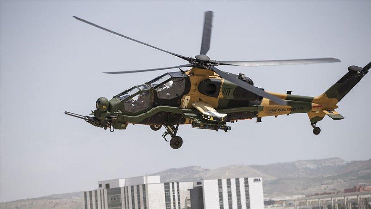 Üretilen ATAK helikopteri sayısı 64 e yükseldi #1