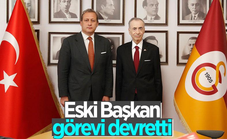 Galatasaray'da devir teslim töreni gerçekleşti