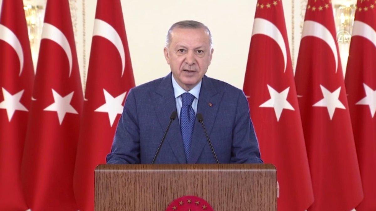 Cumhurbaşkanı Erdoğan: 200 milyar dolarla ihracat rekoru bekliyoruz #3