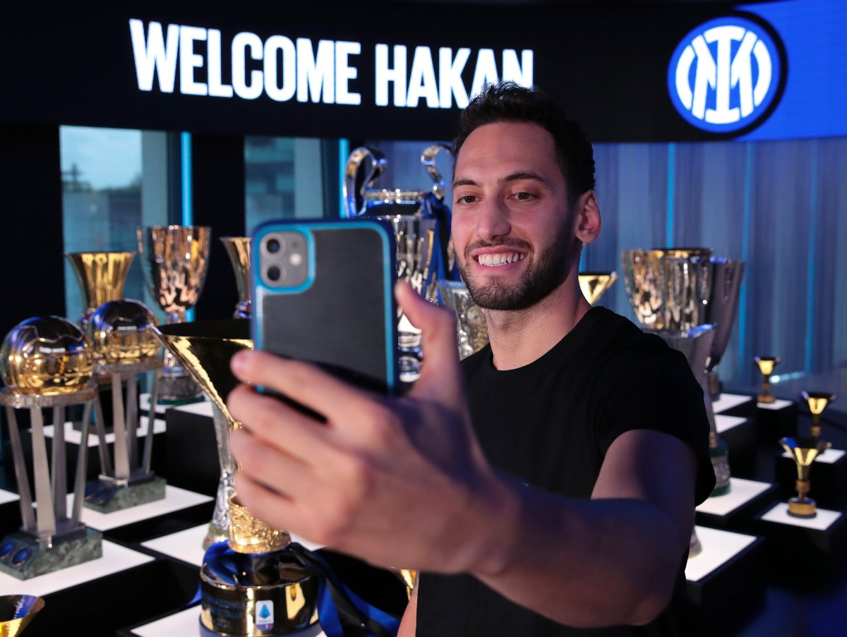 Hakan Çalhanoğlu Inter de #3