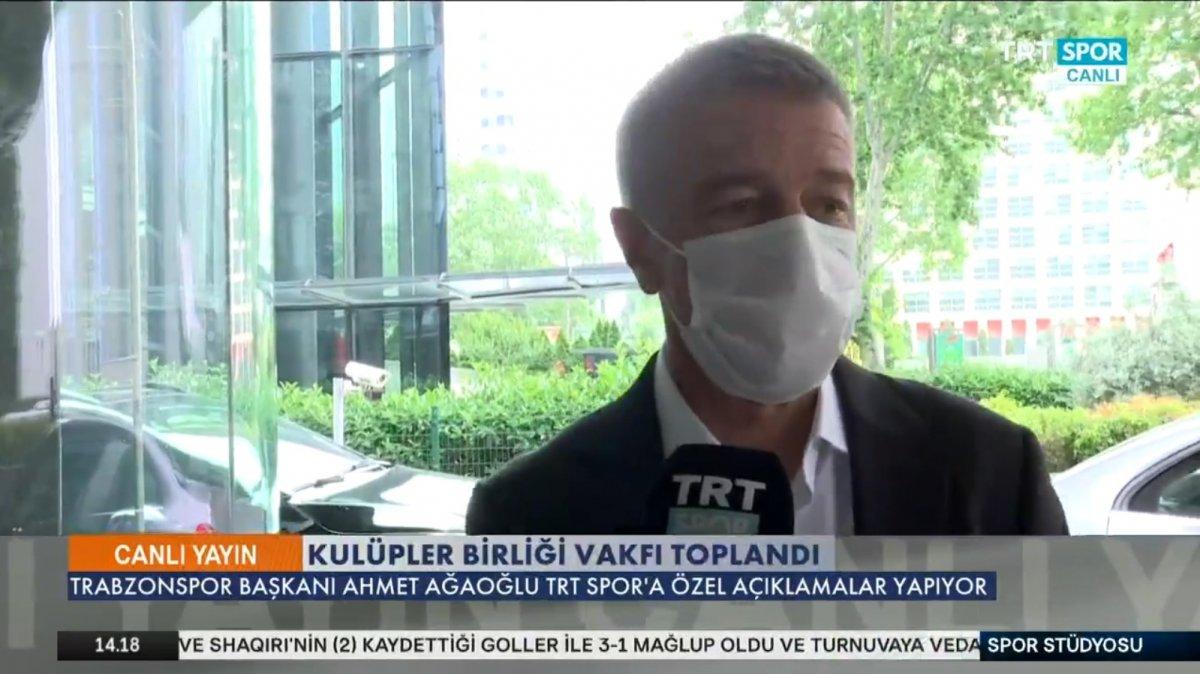 Ahmet Ağaoğlu: Transferlerimizi yabancı kuralına göre yaptık #1