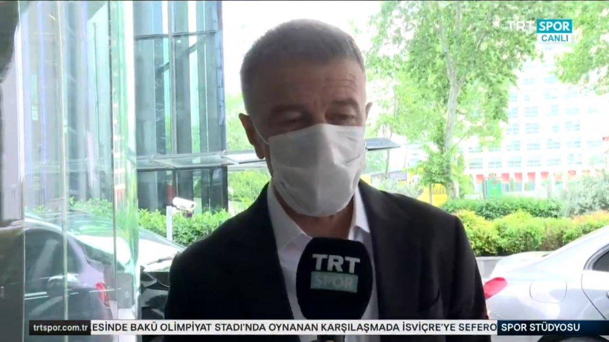 Ahmet Ağaoğlu: Transferlerimizi yabancı kuralına göre yaptık #2