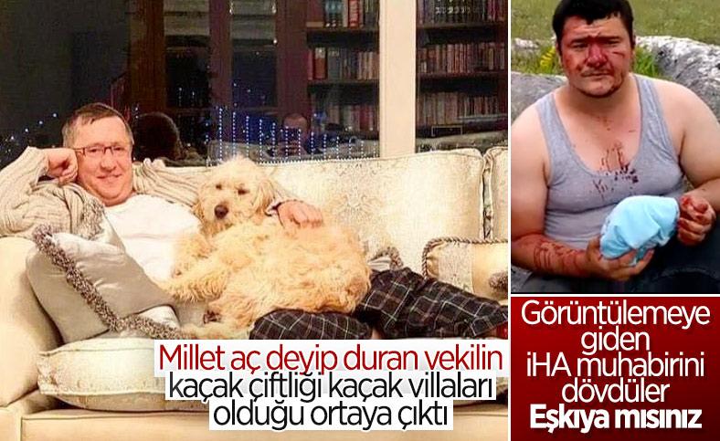 Lütfü Türkkan'ın adamları İHA muhabirine saldırdı