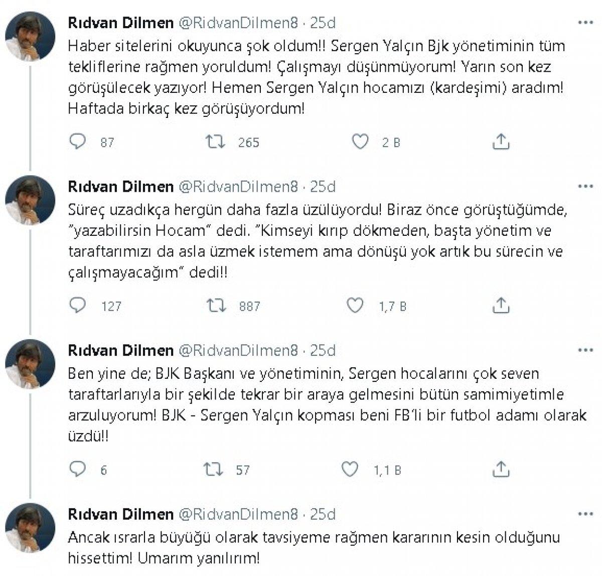 Rıdvan Dilmen: Sergen Yalçın Beşiktaş ı reddetti #3