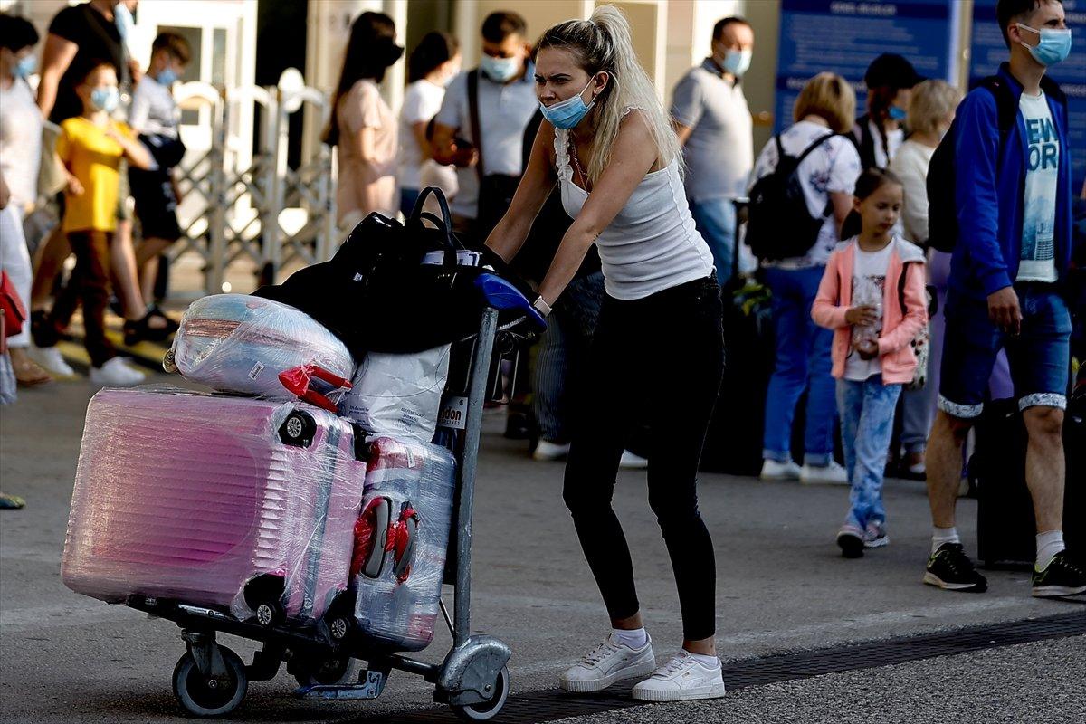 İlk Rus turist kafilesi Antalya da #20