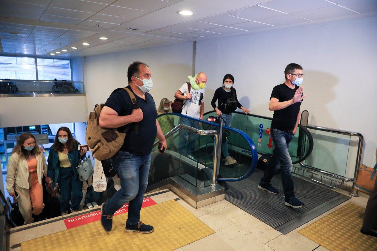 İlk Rus turist kafilesi Antalya da #6