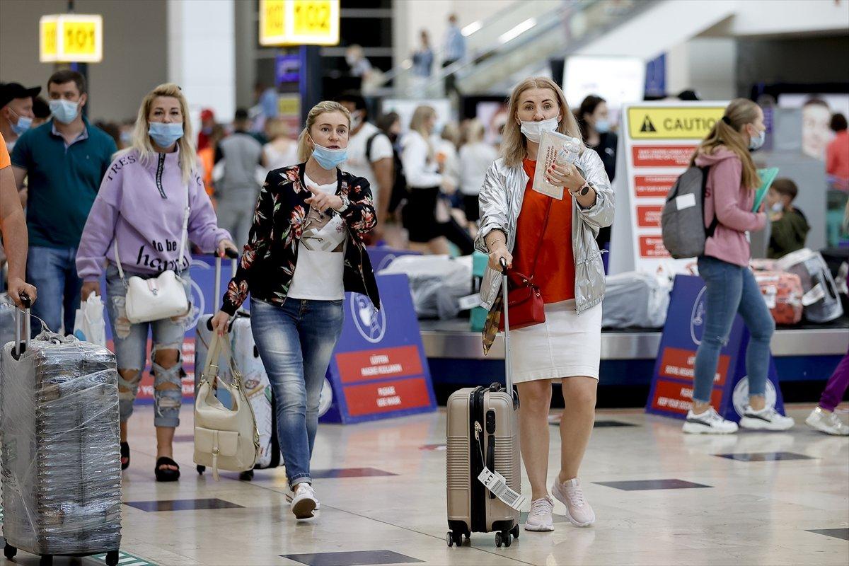 İlk Rus turist kafilesi Antalya da #11