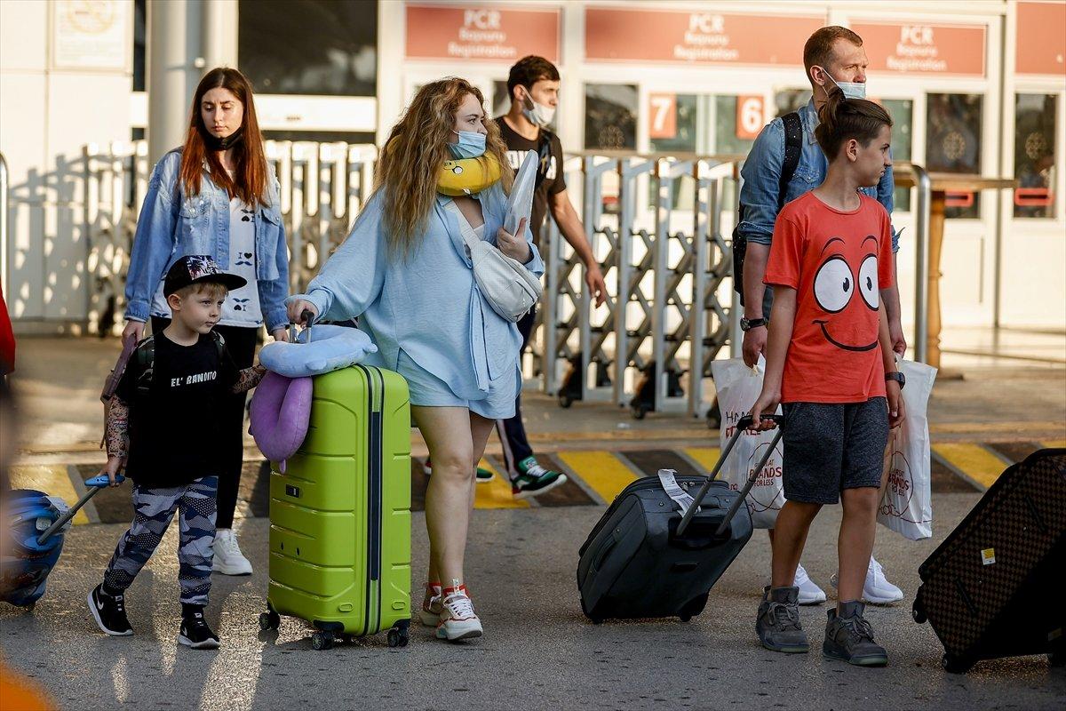İlk Rus turist kafilesi Antalya da #12