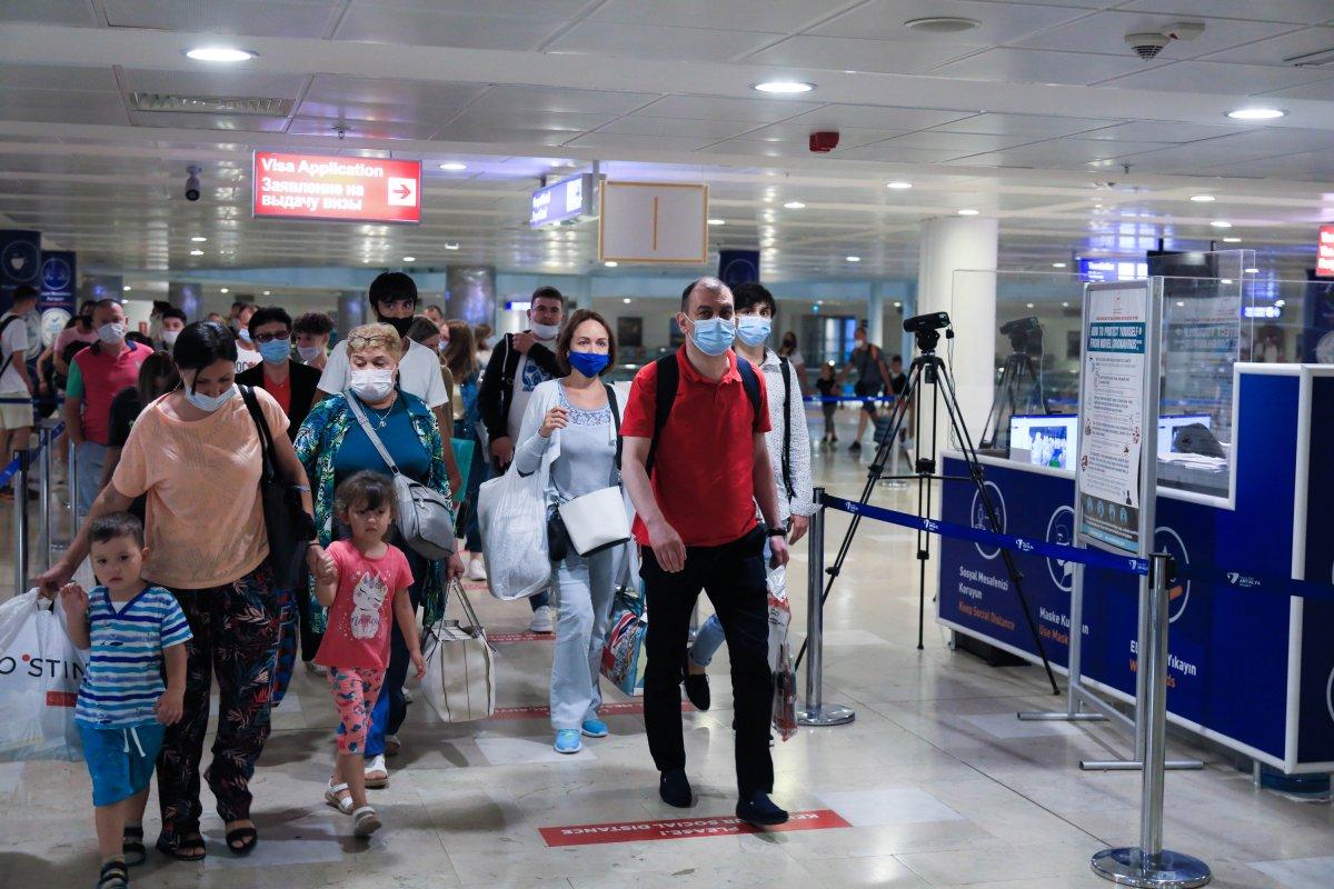 İlk Rus turist kafilesi Antalya da #7