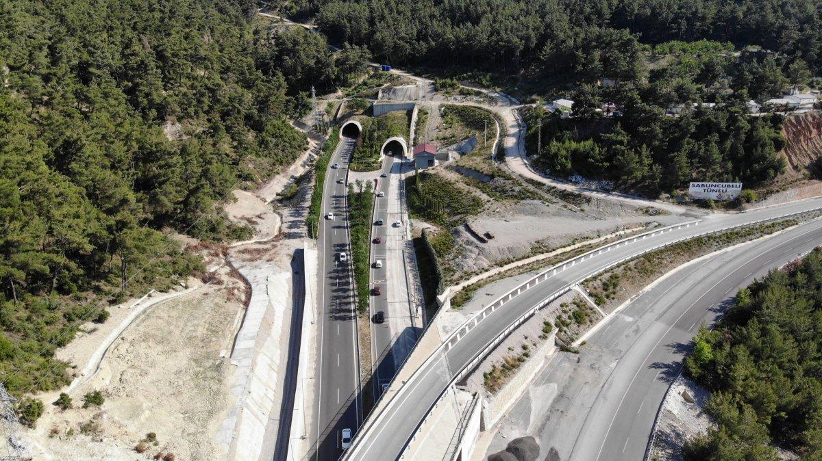 Sabuncubeli Tüneli sayesinde 305 milyon lira tasarruf edildi #3