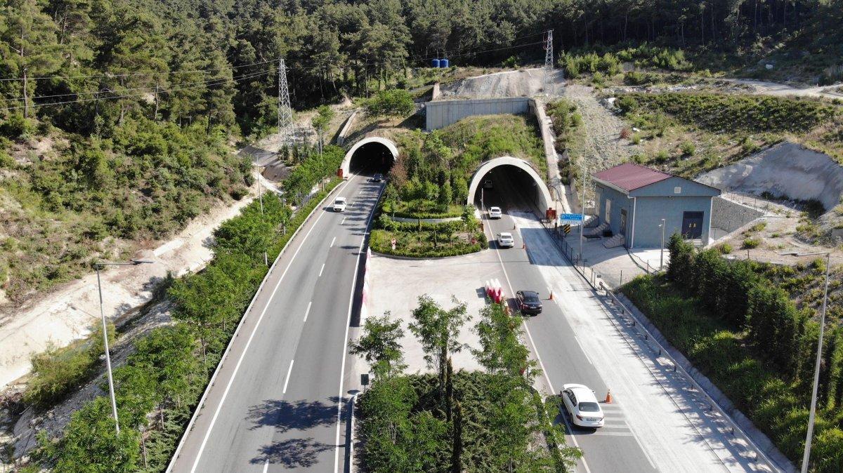 Sabuncubeli Tüneli sayesinde 305 milyon lira tasarruf edildi #1