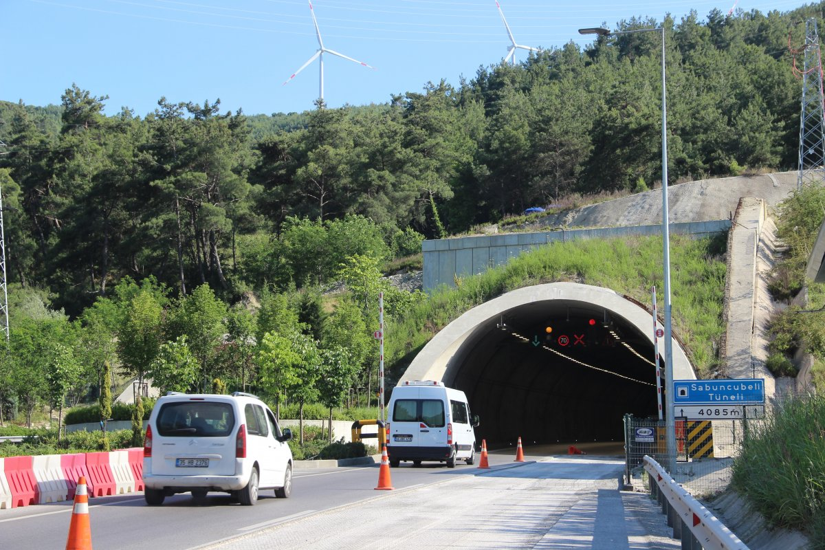 Sabuncubeli Tüneli sayesinde 305 milyon lira tasarruf edildi #4