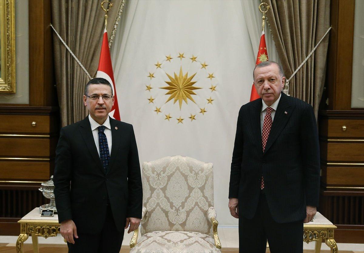 Cumhurbaşkanı Erdoğan, Sayıştay Başkanı Seyit Ahmet Baş ile görüştü #1
