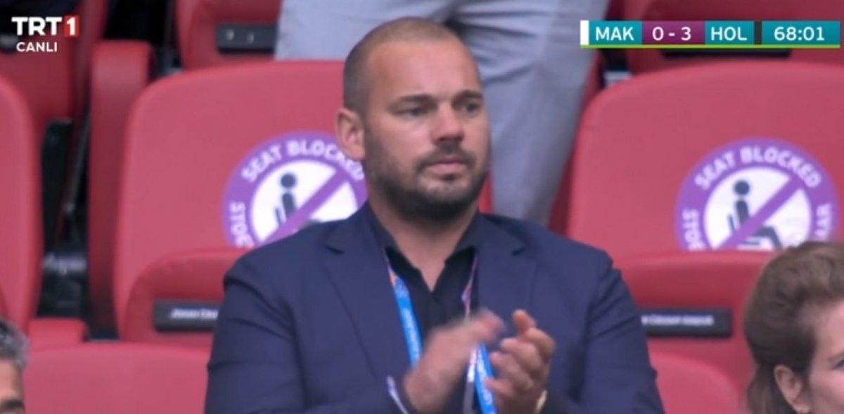 Sneijder son görünümüyle şaşırttı #1