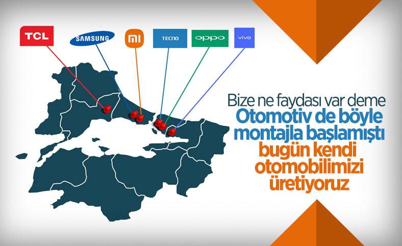 Türkiye, akıllı telefon üretim üssü haline geliyor: İşte yatırım yapan markalar