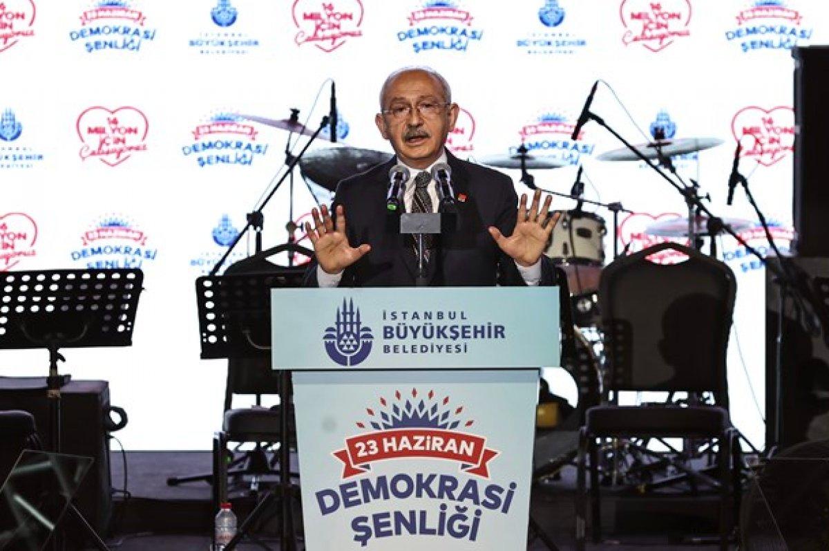 Kemal Kılıçdaroğlu, Demokrasi Şöleni etkinliğinde konuştu #1
