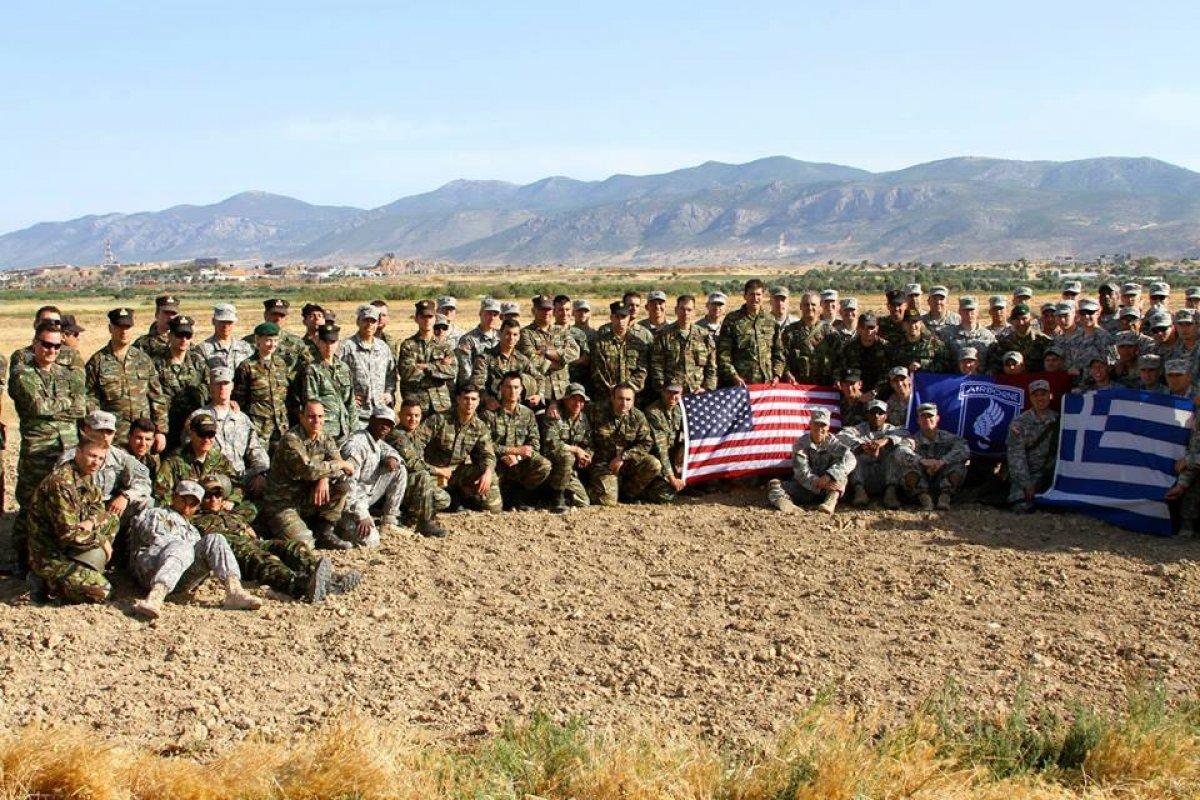 ABD den, Yunanistan a askeri yardıma onay #1