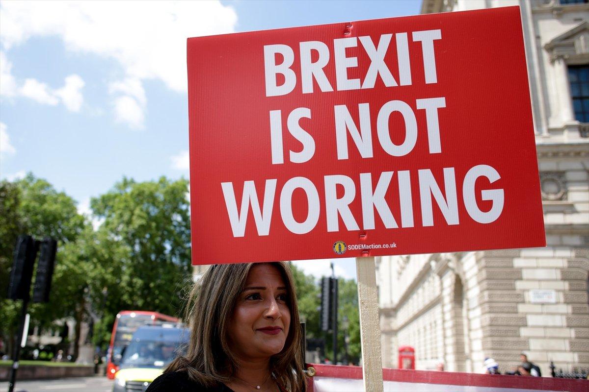 Brexit karşıtları, Londra da toplandı #2