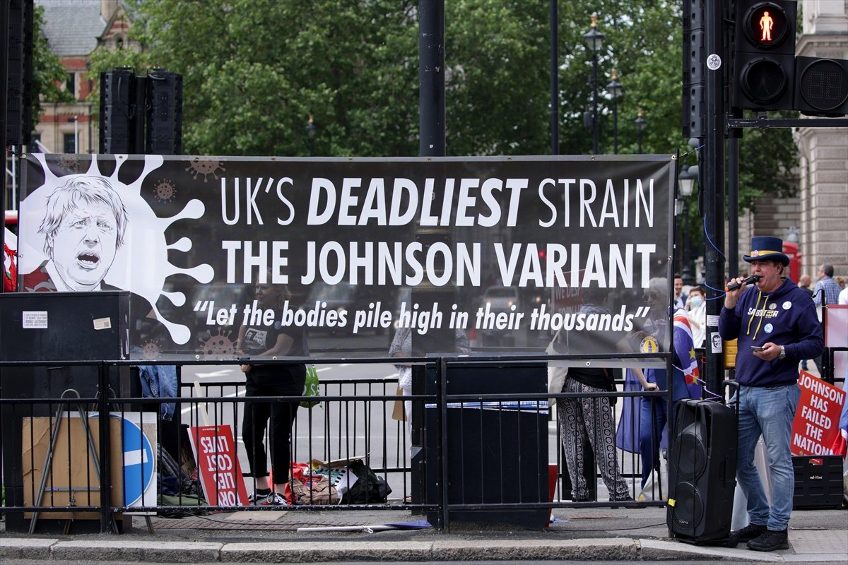 Brexit karşıtları, Londra da toplandı #5