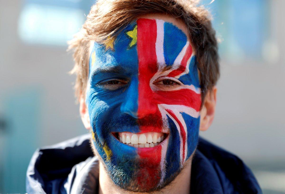 Brexit karşıtları, Londra da toplandı #1