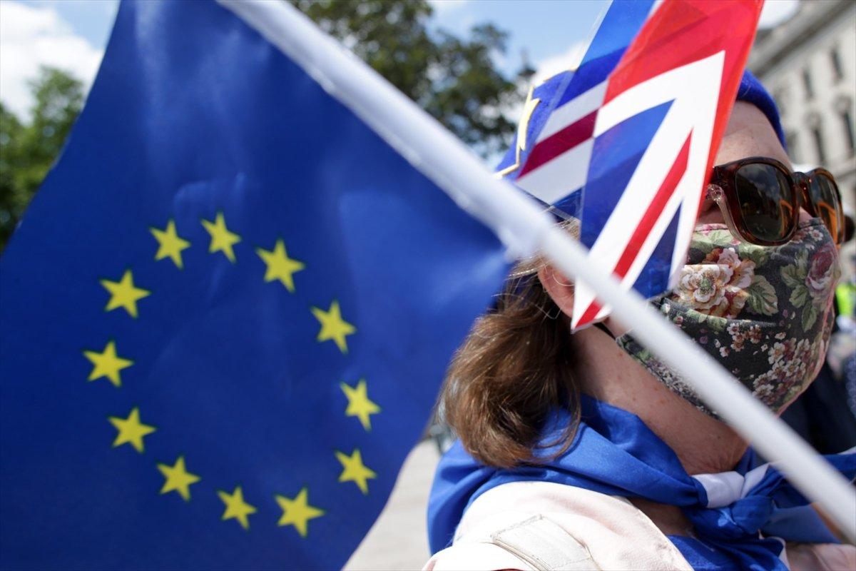 Brexit karşıtları, Londra da toplandı #9