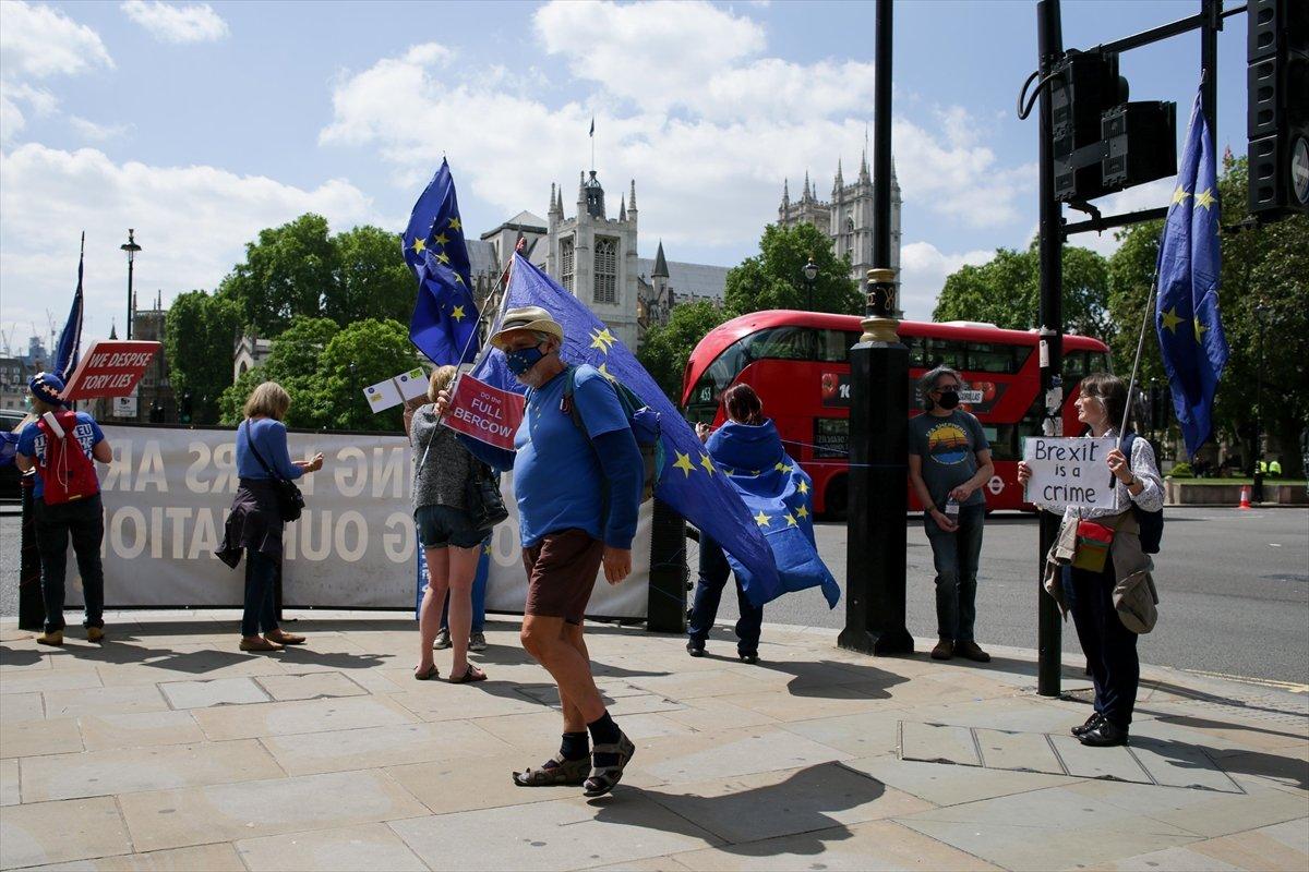 Brexit karşıtları, Londra da toplandı #4
