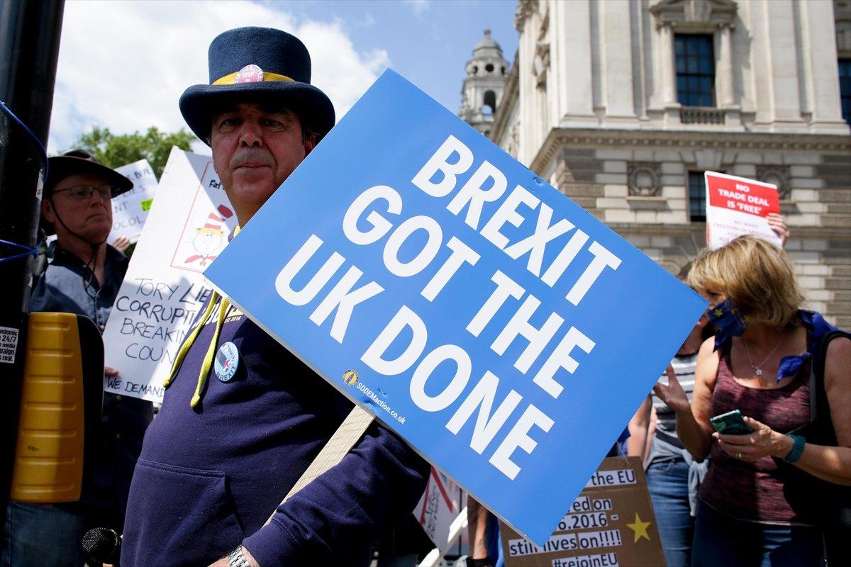 Brexit karşıtları, Londra da toplandı #6