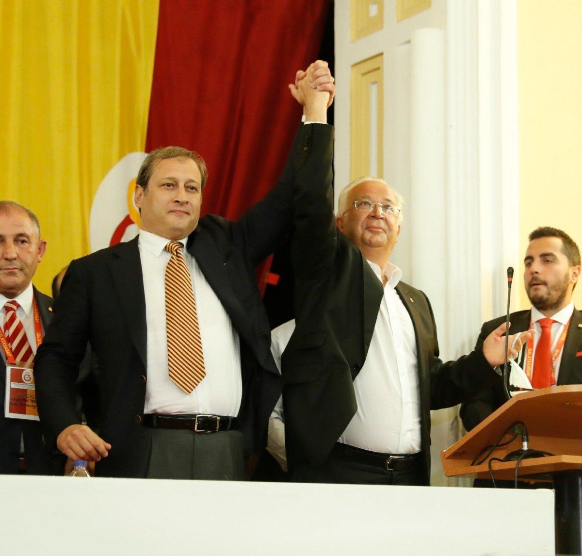 Galatasaray da yönetim kurulu görev listesi açıklandı #1