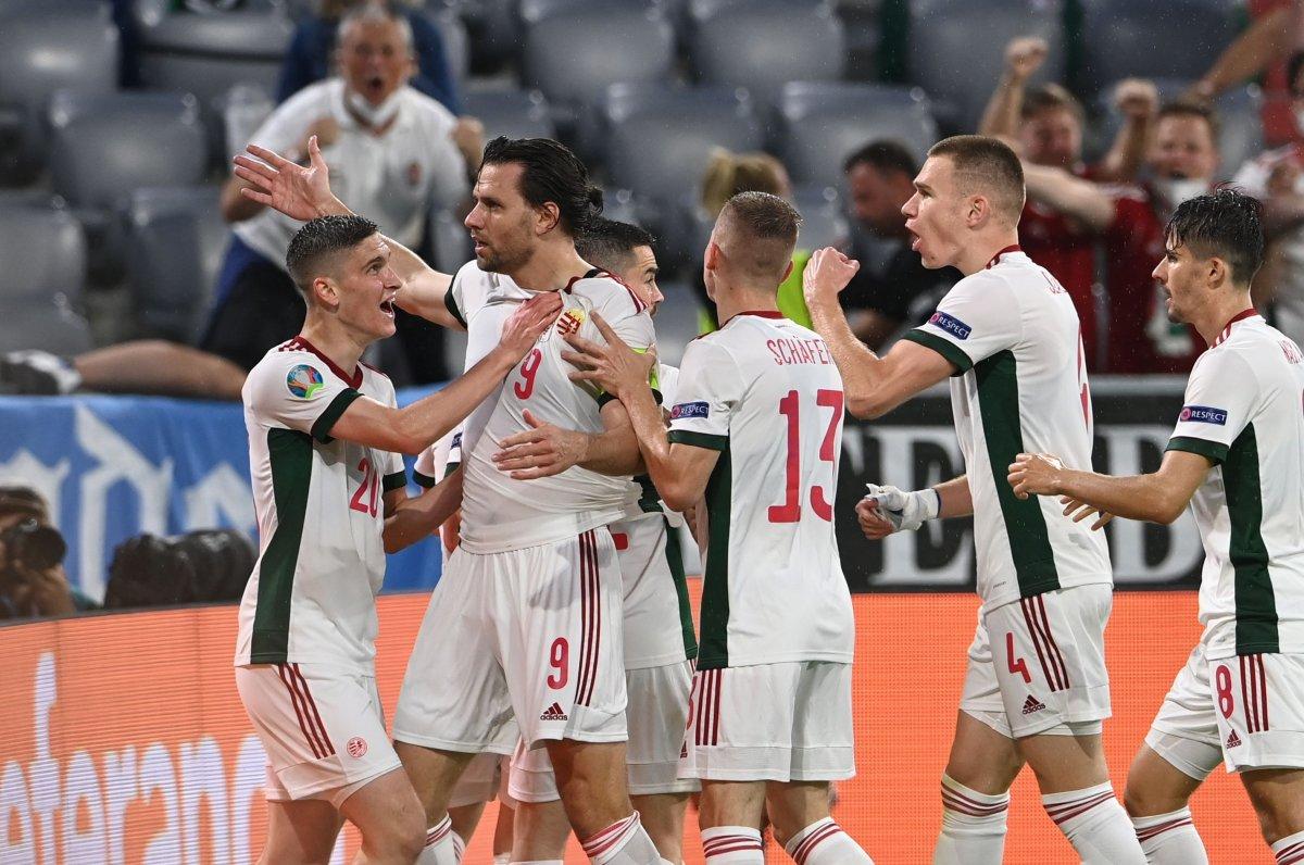 Almanya, Macaristan la berabere kaldı #1