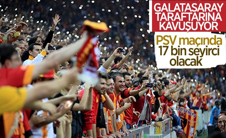 Galatasaray rövanşta 17 bin seyirciyle oynayacak