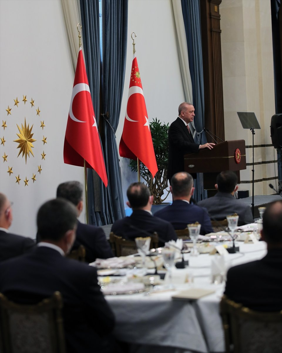 Cumhurbaşkanı Erdoğan AK Partili belediye başkanlarına hitap etti #7