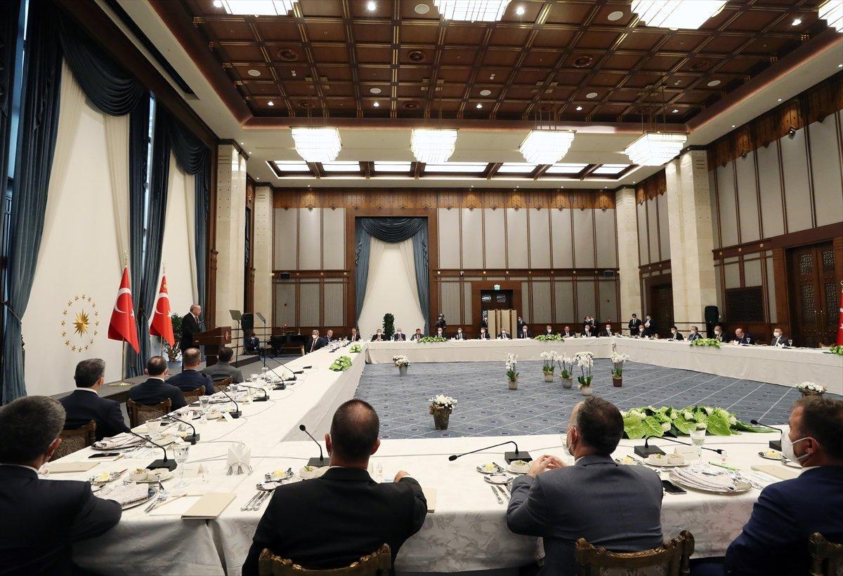 Cumhurbaşkanı Erdoğan AK Partili belediye başkanlarına hitap etti #5
