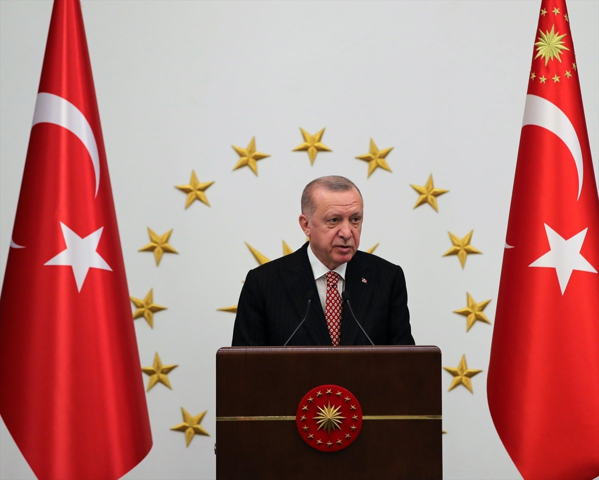 Cumhurbaşkanı Erdoğan AK Partili belediye başkanlarına hitap etti #1