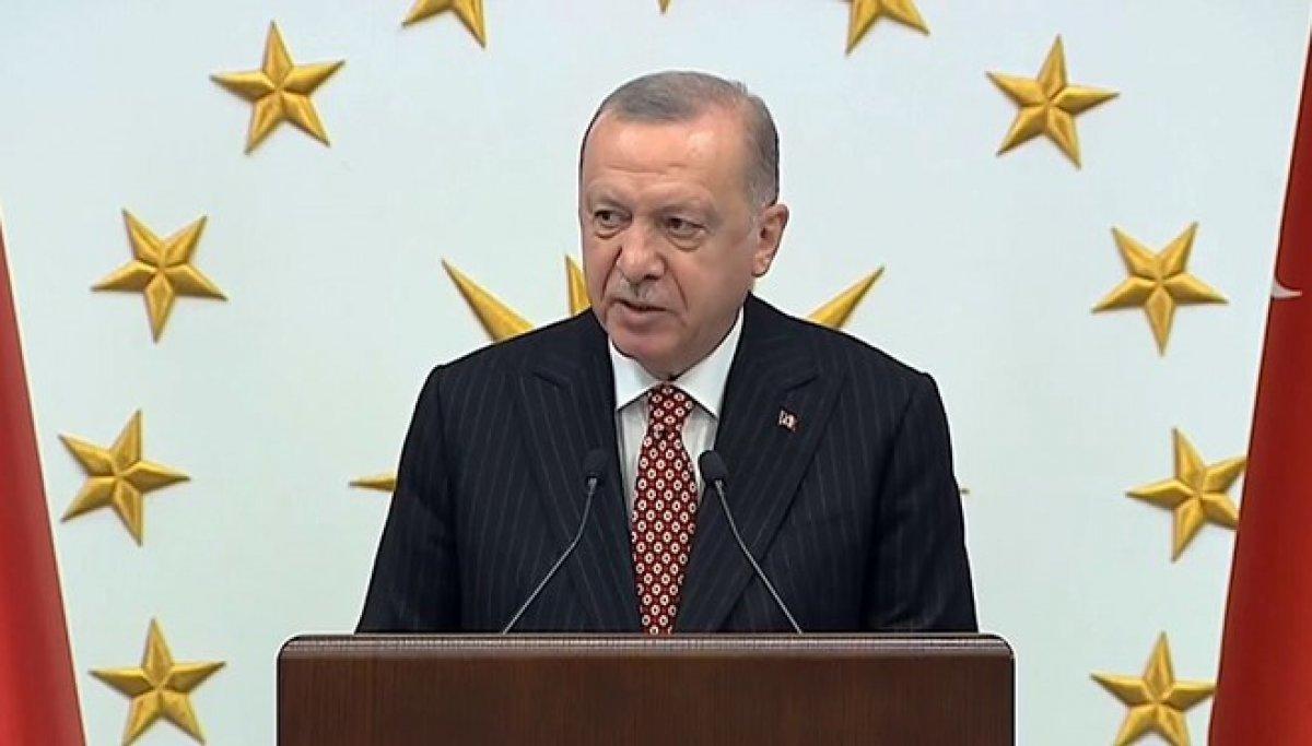 Cumhurbaşkanı Erdoğan AK Partili belediye başkanlarına hitap etti #2