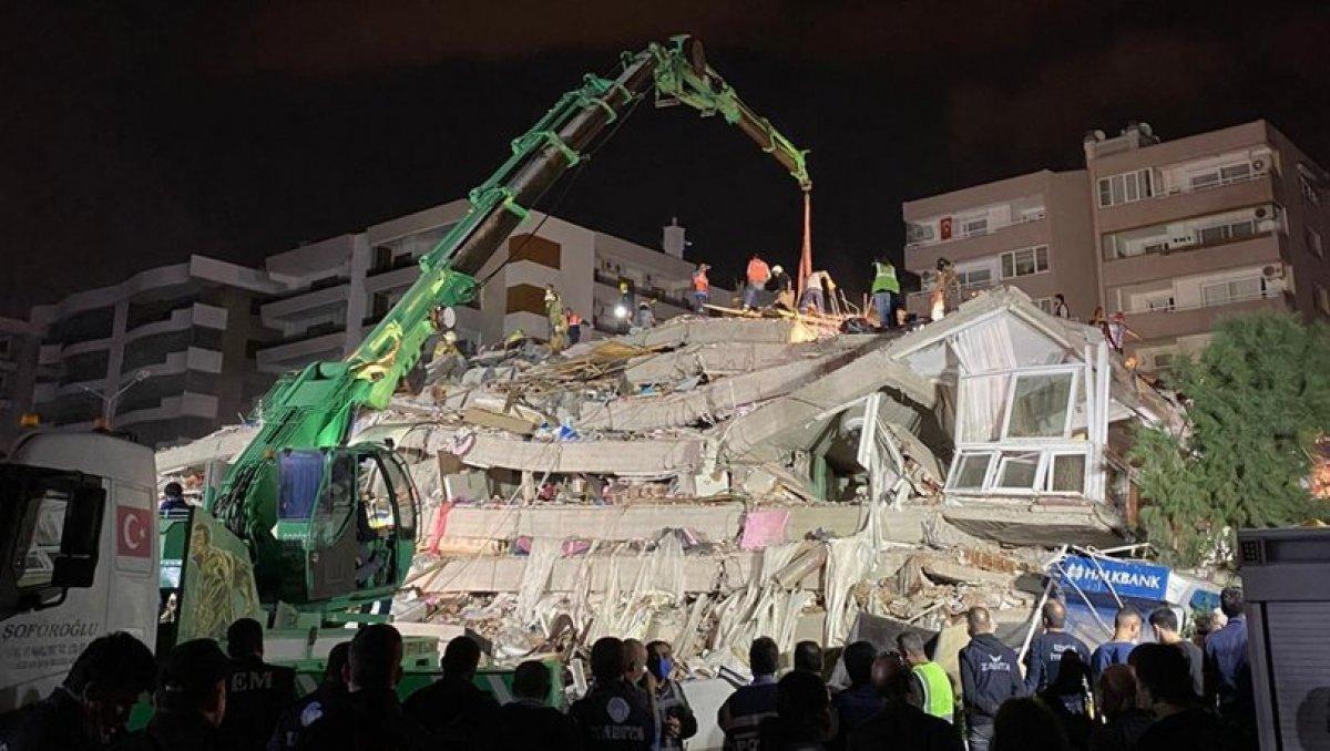İzmir depreminde yıkılan Doğanlar Apartmanı na ilişkin iddianame kabul edildi #1
