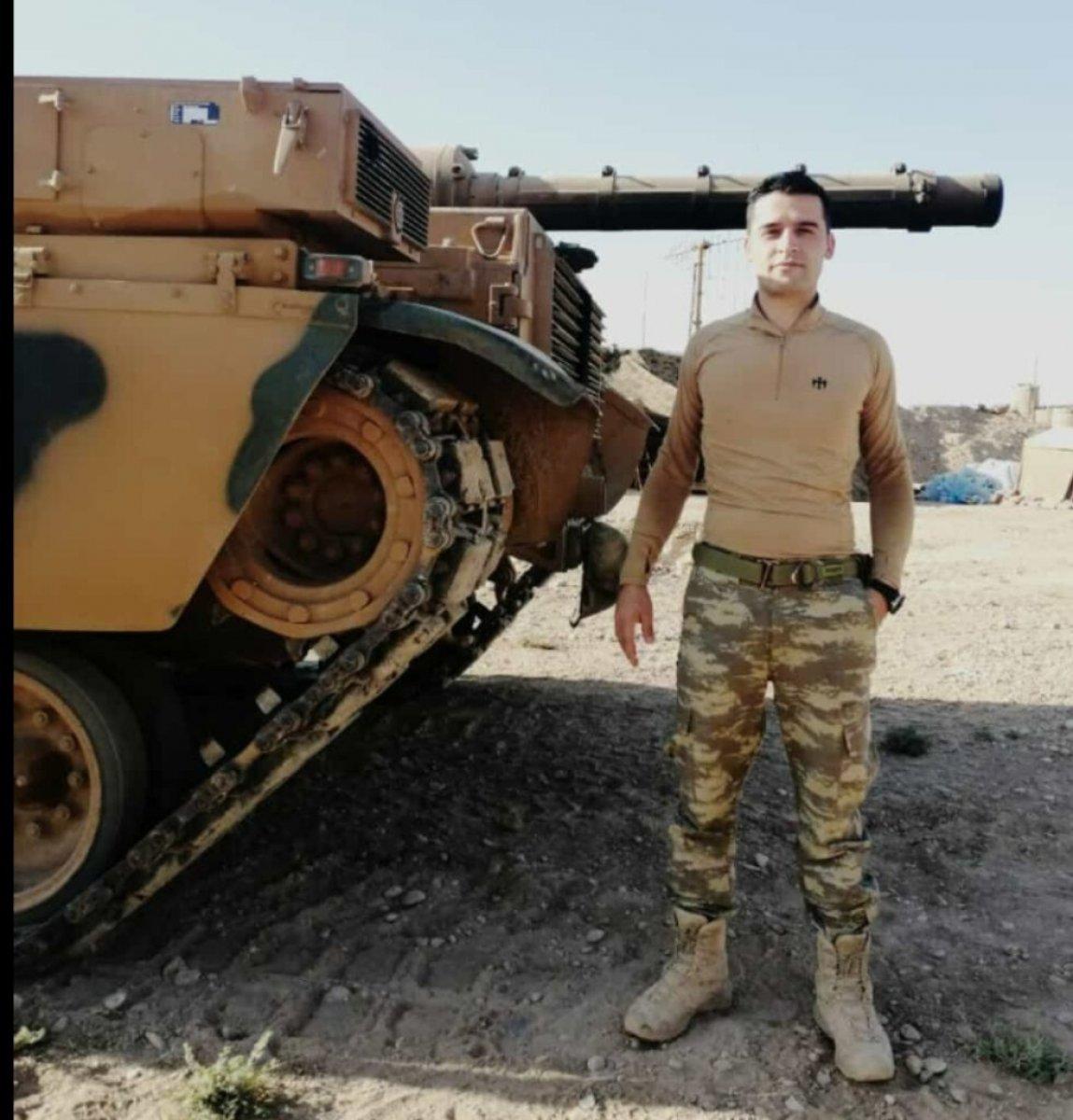 Kuzey Irak ta uzman çavuş, atılan bombayı bacaklarıyla patlattı #1