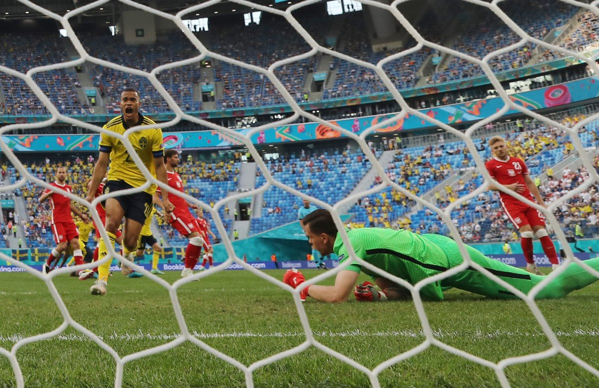 Euro 2020 de İsveç, Polonya yı yendi #1