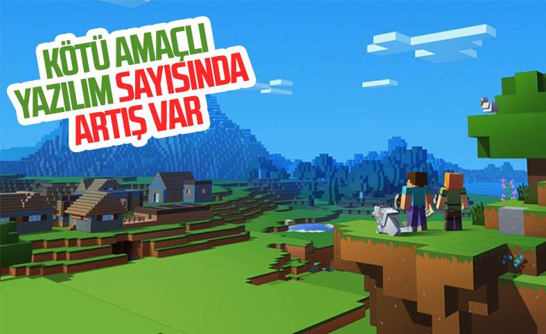 Minecraft taklidi kötü amaçlı yazılımların sayısı artıyor