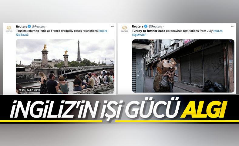 Reuters'ın, Türkiye hakkında fotoğraflarla algı çalışması