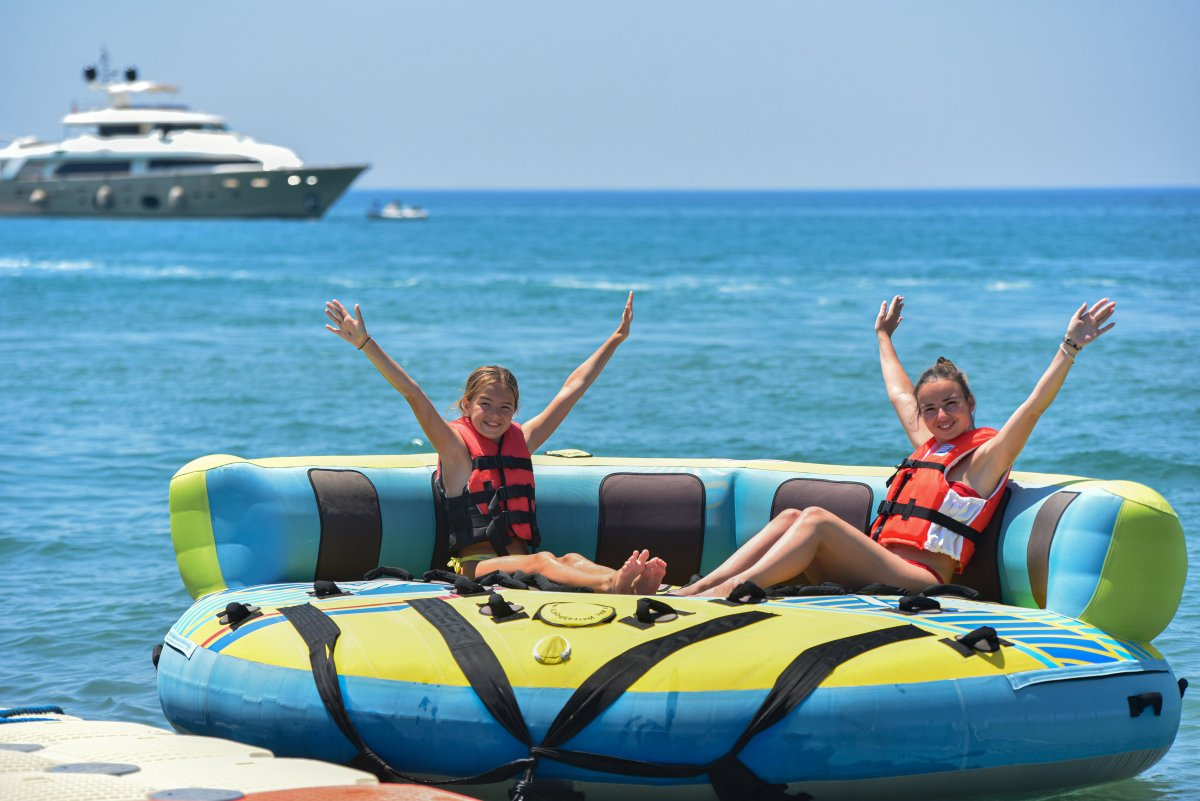 Antalya plajları normale döndü #10