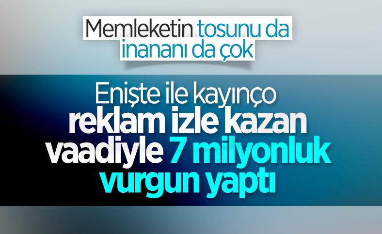 Kurdukları saadet zinciriyle 400'den fazla kişiyi 7 milyon lira dolandırdılar